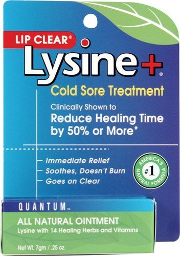 Lysine + Lip Clear Cold Sore Ointment 7 Gm