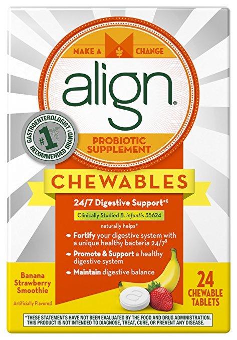 Align Banana Strawberry Chew 24 Tablet
