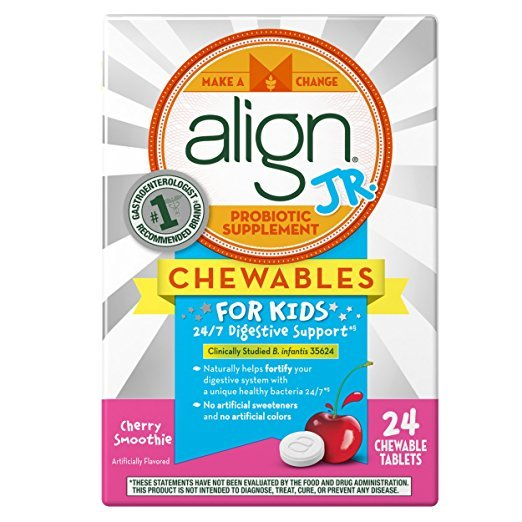 Align Tablet For Kids Chew Cherry 24
