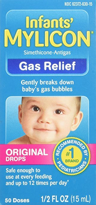 Mylicon Infant Anti-Gas Original Drops 0.5 Oz