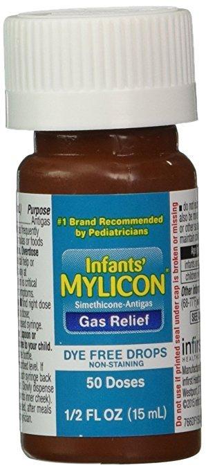 Mylicon Infant Anti-Gas Dye Free Drops 0.5 Oz