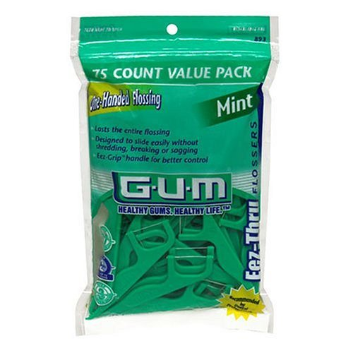 Image 0 of Gum Eez-Thru Flosser Mint 90
