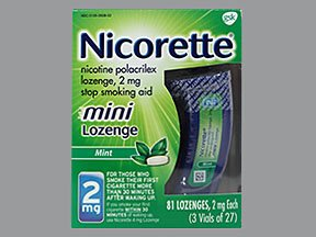 Image 0 of Nicorette 2 Mg Mint 81 Lozenge