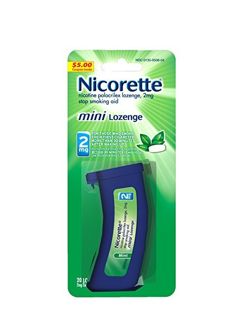 Image 0 of Nicorette 2 Mg Mini 20 Lozenge
