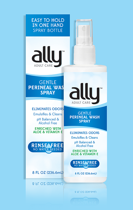 Ally Bathing Perineal Wash Gentle Spray 8 Oz
