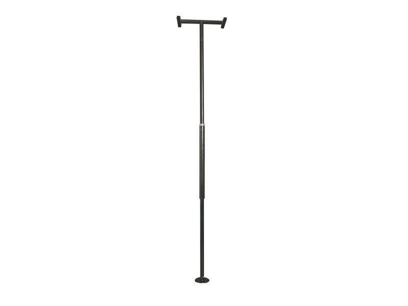 Stander Bathroom Aids Adjustable Security Pole Black Glossy 1150-B