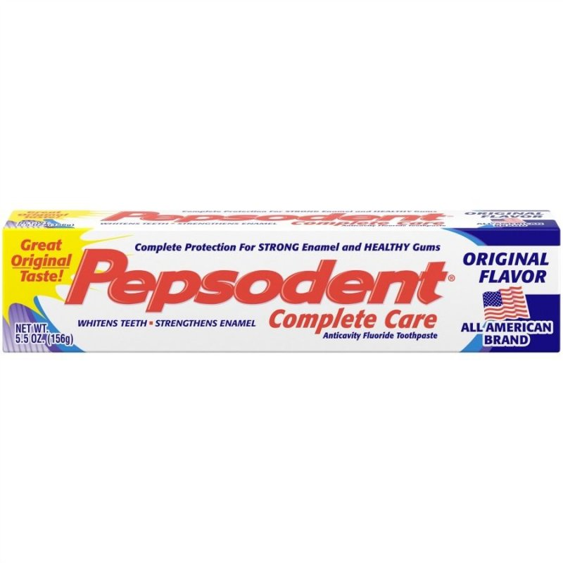 Pepsodent Complete Care Original Tooth Paste 5.5 Oz