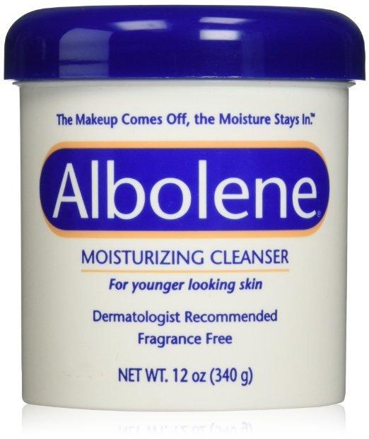 Albolene Moisturizing Cleanser Unscented 12 Oz