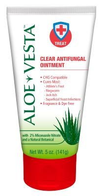 Image 0 of Aloe Vesta Clear Antifungal Ointment 5 Oz