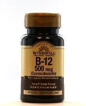 Image 0 of Windmill Vitamin B12 500 Mcg 60 Tablet