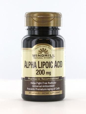 Alpha Lipoic Acid 200 Mg 30 Tablet