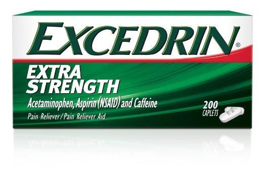 Excedrin Extra Strength 200 Caplets
