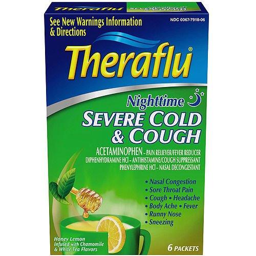 Theraflu Night M S Sv Cold Lipton Pwd 6