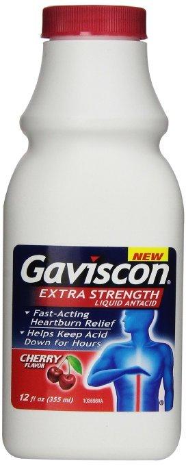 Image 0 of Gaviscon Extra Strength Liquid Cherry 12 Oz