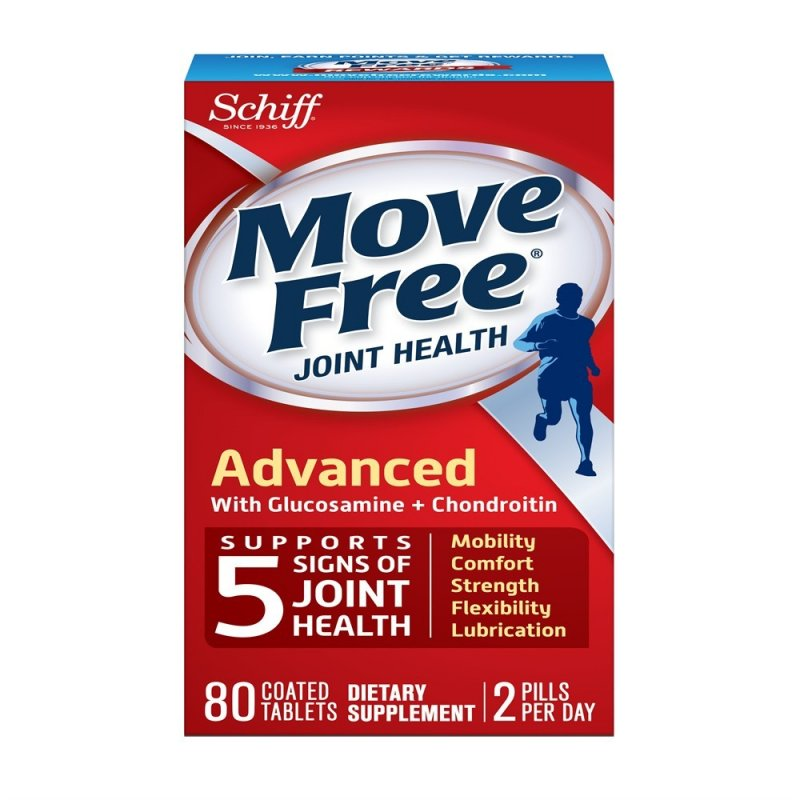 Move Free Advanced Triple Strength 80 Tablet