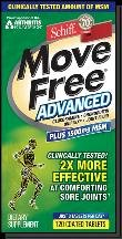 Move Free Advanced Plus Msm 120 Tablet