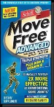 Move Free Advanced With Msm Vitamin D 80 Tablet