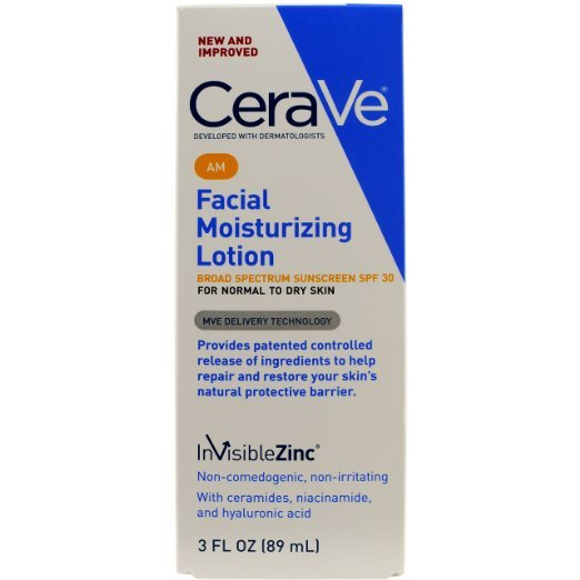 Cerave Facial Moisturizing Am Lotion 3 Oz