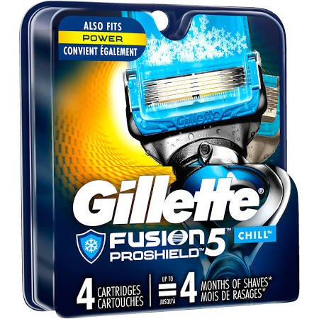 Gillete Fusion Pro Shield Mnl Razor Base 1 Ct