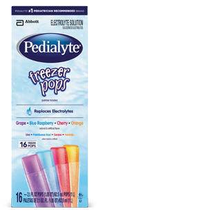 Image 0 of Pedialyte Pop Assorted Flavor 4 x 16 Ct