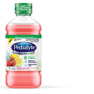 Image 0 of Pedialyte Rtf Advanced Strawberry Lemonade 4 x 1 Liter