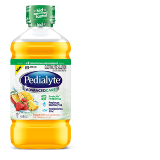 Image 0 of Pedialyte Advanced Tropical Fruit 4 x 1 Liter