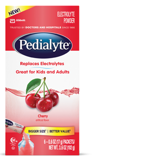 Image 0 of Pedialyte Large Powder Packet Cherry 6 x 6 Ct