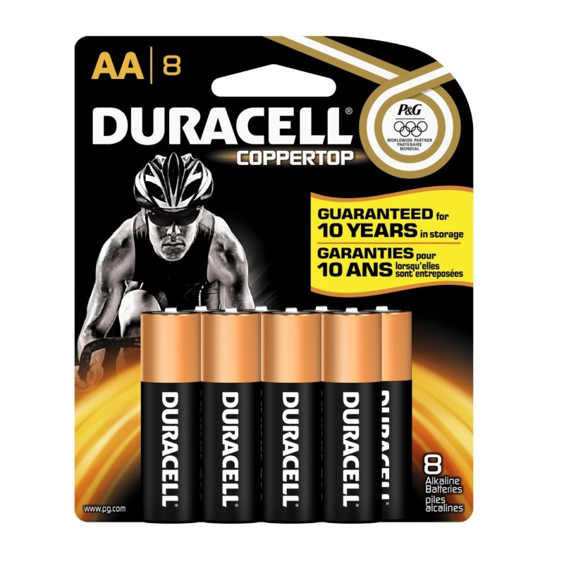 Image 0 of Duracell Coppertop AA 8 Ct