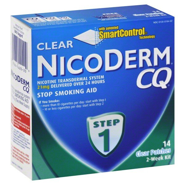 Image 0 of Nicoderm CQ 21 Mg Clear 14 Patch