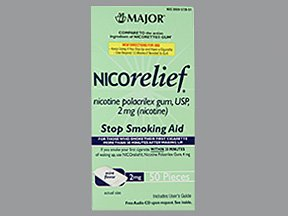 Image 0 of Nicorelief 2 Mg Gum Mint 50 Ct