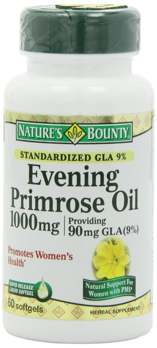 Evening Primrose 1000 Mg 60 Soft Gel Caps By Nature's Bounty