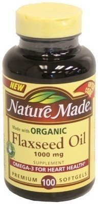 Image 0 of Nature Made Flaxseed Oil 1000 Mg 100 Gel Caps