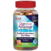 Image 0 of Schiff Vitamins Digestive Advantage Probiotic + Fiber 45 Gummy's