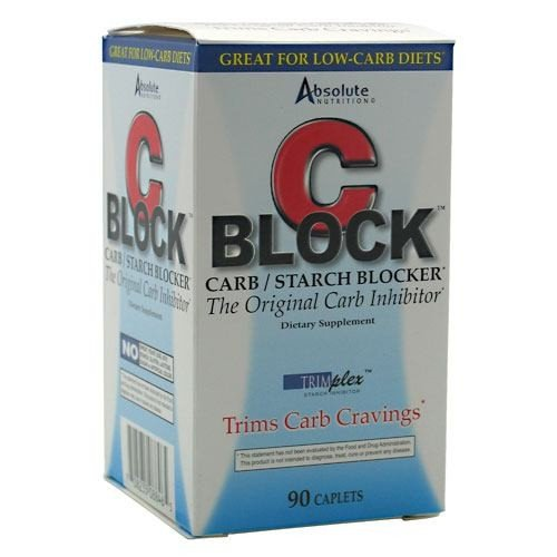 Absolute Nutrition C Block Carbo Inhibitor 90 Caplets