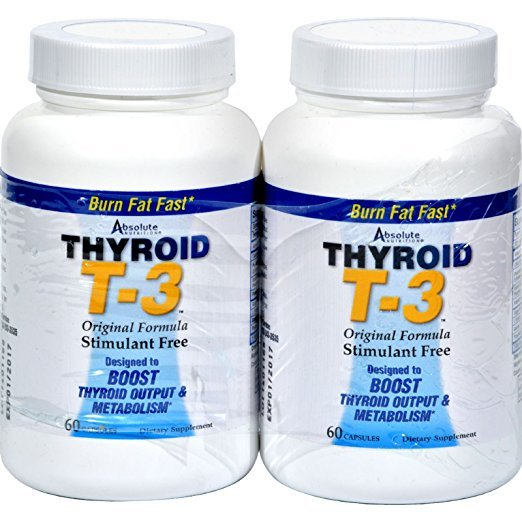 Absolute Nutrition Thyrox T-3 Capsules 60 x 2