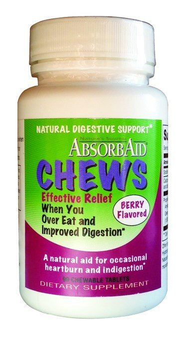 Absorbaid Digestive Berry Chews 90 Tablet
