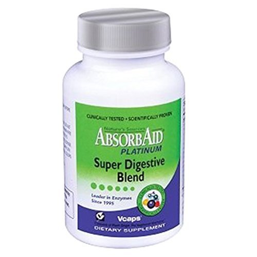 Absorbaid Platinum Super Digestive Blend Vegetarian 120 Capsules