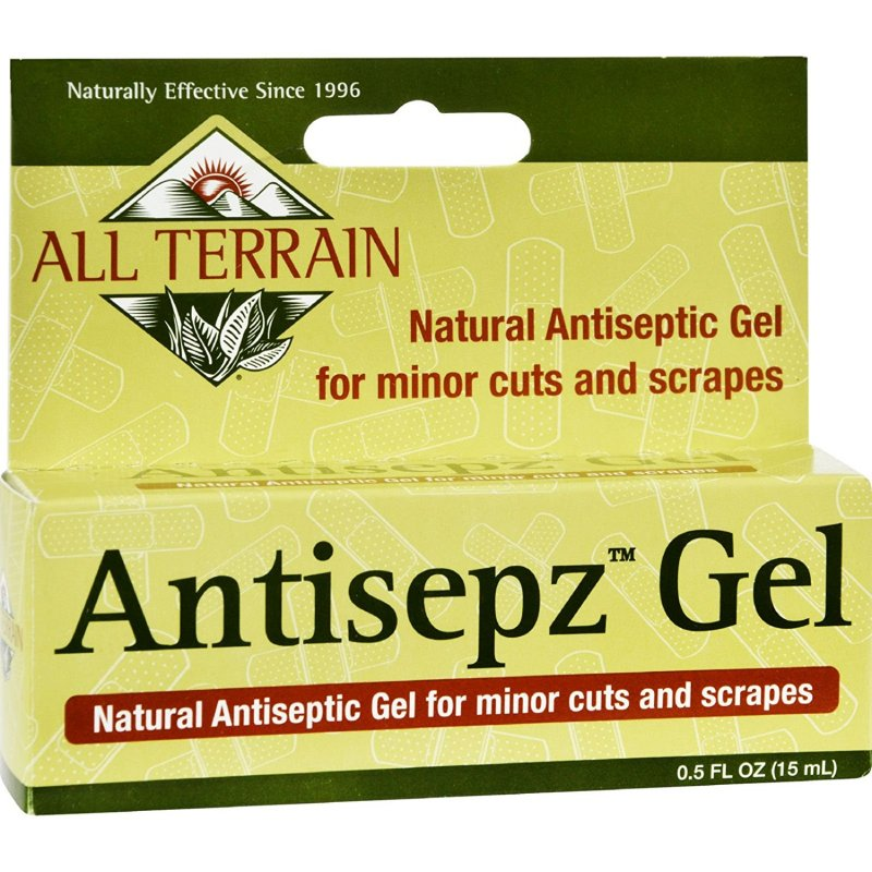 All Terrain Antiseptz Gel 0.5 Oz