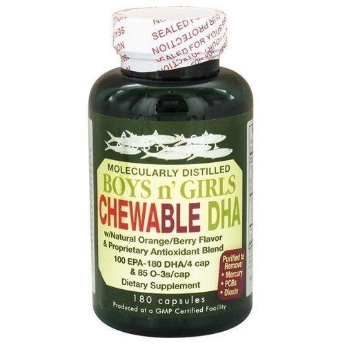 Amino Acid & Botanical Boys N'' Girls Chew able Dha 90 Capsules