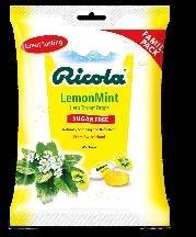 Image 0 of Ricola Sugar Free Lemon Mint Bag 45 Ct