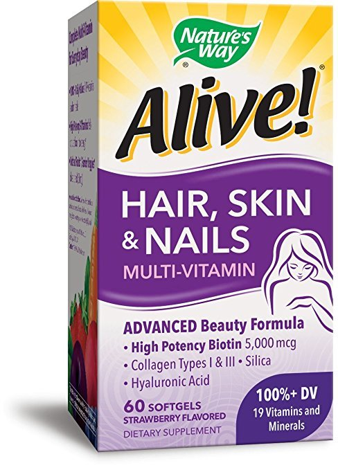 Alive Multivitamin Hair Skin & Nail 60 Soft Gels