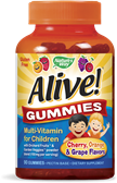 Alive Multivitamin Children's Orange Berry 120 Tablet