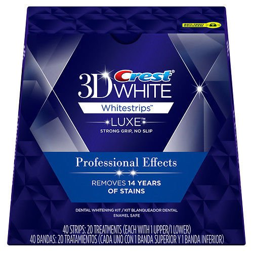 Crest 3D White Strips Profess Effect 20 Ct