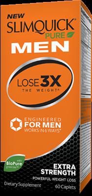 Slimquick Men Extra Strength 60 Caplets
