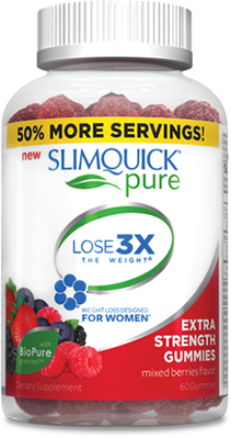 Slimquick Women Extra Strength 60 Gummy
