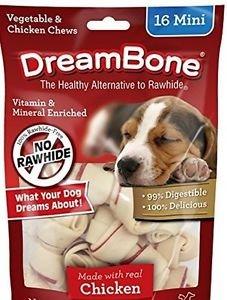 Dreambone Mini Chicken 16 Ct