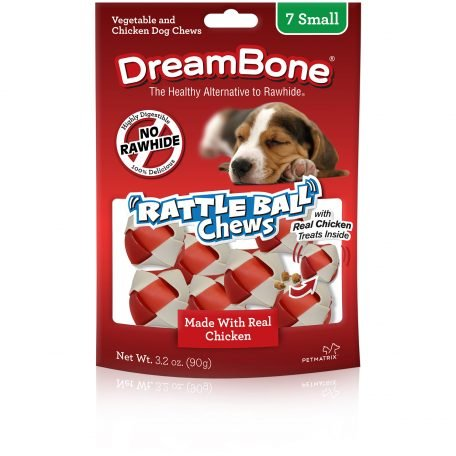 Dreambone Rattle Ball 7 Chews