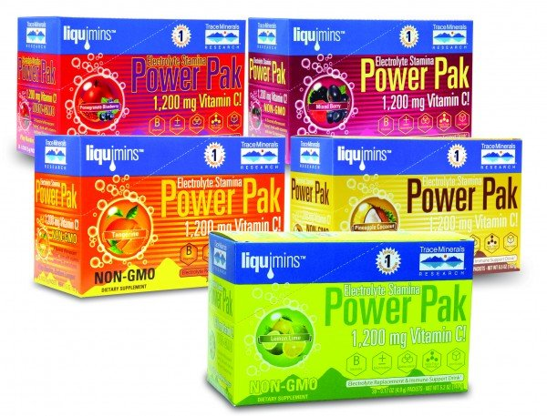 Image 0 of Electrolyte Stamina Power Pack Non-Gmo Pom-Blueberry 30 Pack