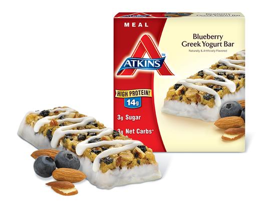 Advantage Bar Blueberry Greek Yogurt 1.7 Oz By Atkins