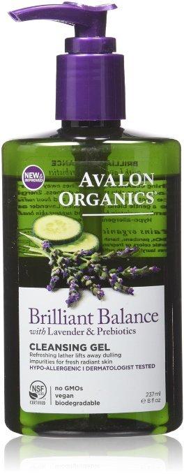 Avalon Brilliant Balance Cleansing Gel 8 Oz